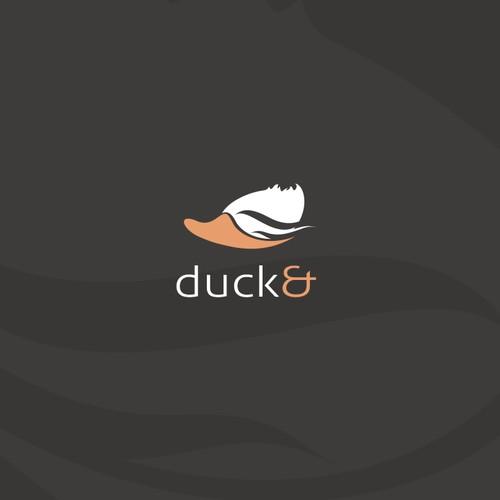 Sporty duck logo