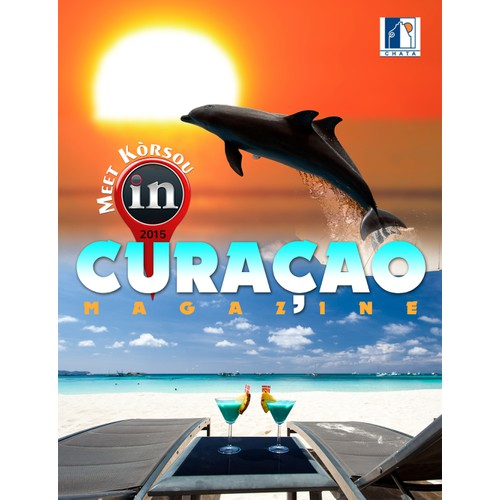 Design Cover for exclusive In Room Magazine for Curaçao