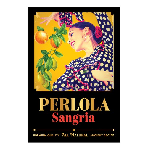 Label for Spanish Sangria
