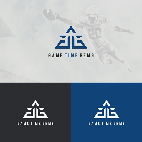 logo concept for game time gems