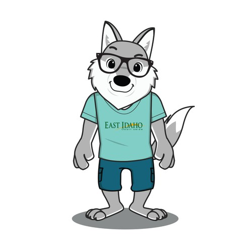 Grey Wolf Character Design