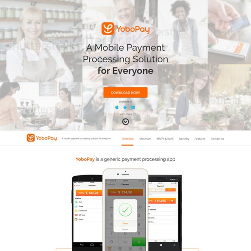 YoboPay Mobile Payment Processing Solution