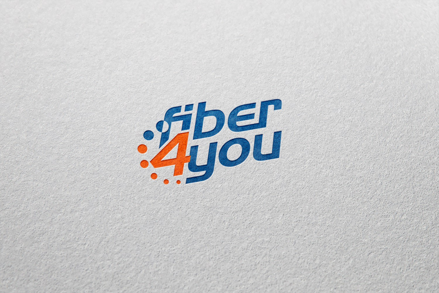"Create a fresh & modern logo for ""fiber4you""!"