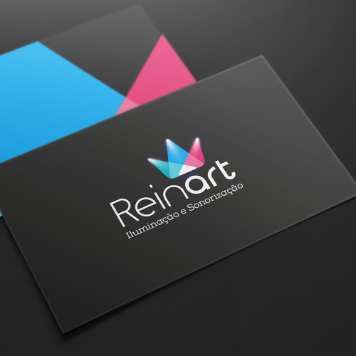Modern logo for a event lighting company