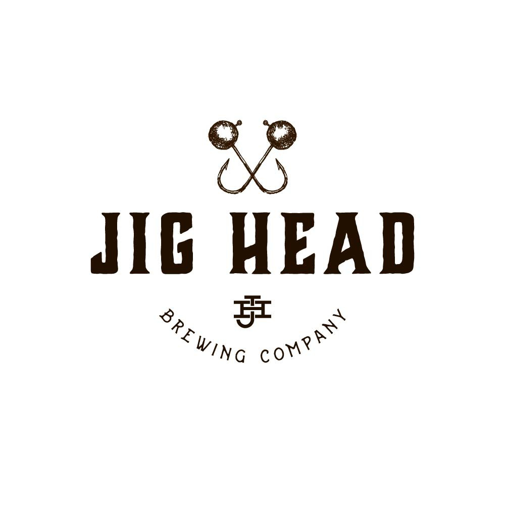 Design a nautical-themed logo for Jig Head Brewing Company