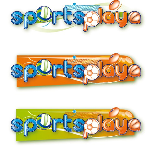 Logo for New Sports Concept Website