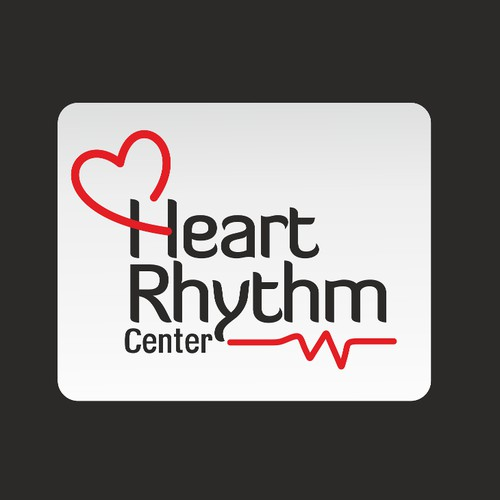 Minimal Logo for Heart center