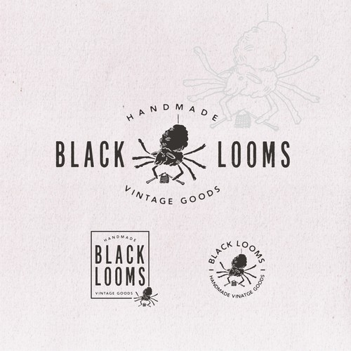 logo for BLACK LOOMS