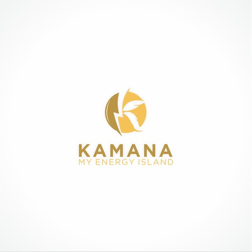 Logo Conept for Kamana My Energy Island