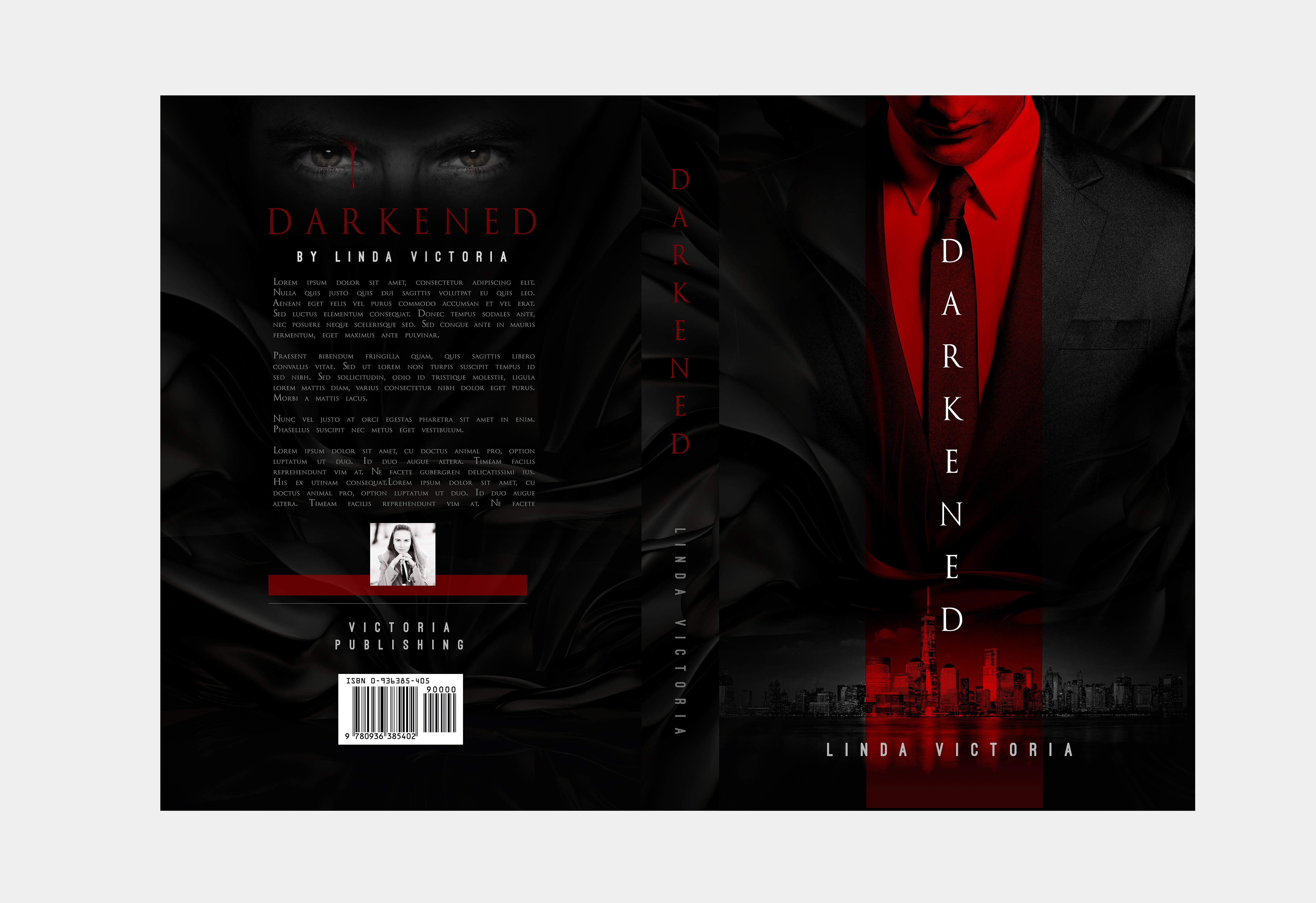 Design an American Psycho inspired book cover