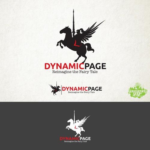 Dynamic Page Logo Concept