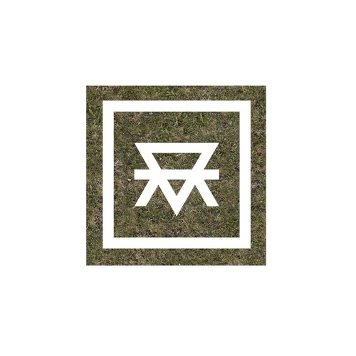 Unique masculine monogram for MotherEarth
