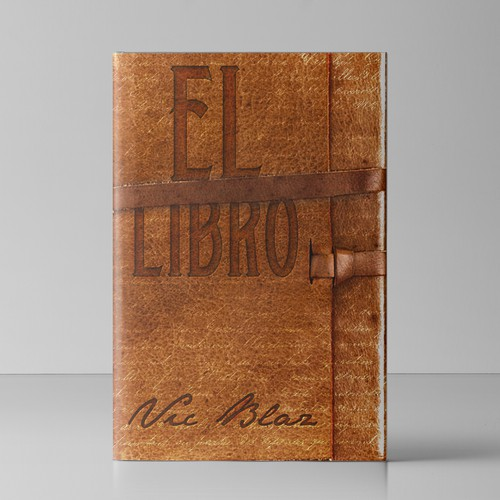 I need a book cover like and cool old diary