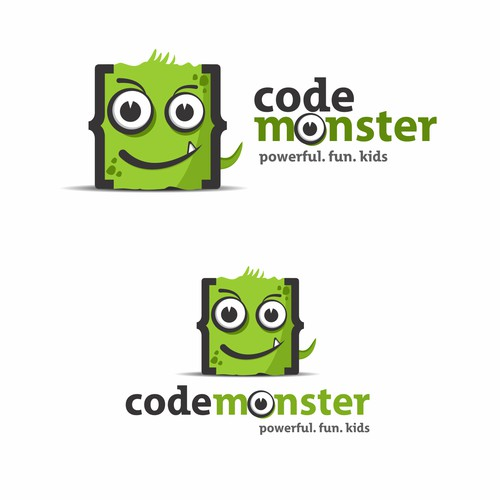 logo that represents a fun way to empower kids to code
