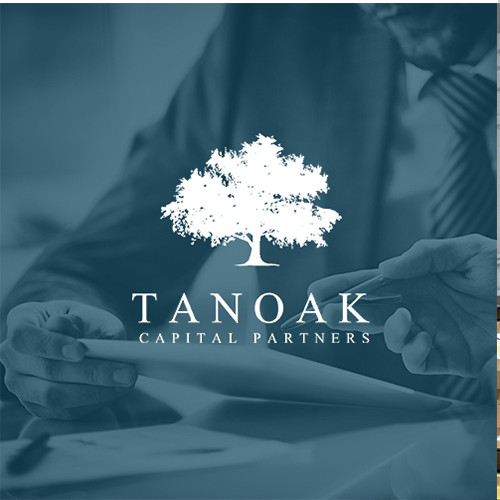 Winning logo concept for Tanoak Capital Partners