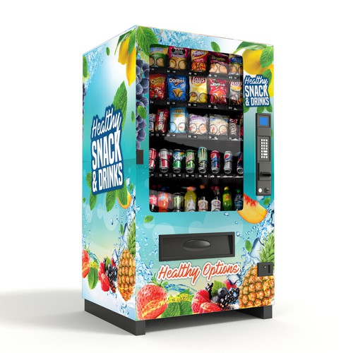 Healthy Vending Machine Wrap