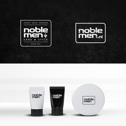 Logo design for Noble Men