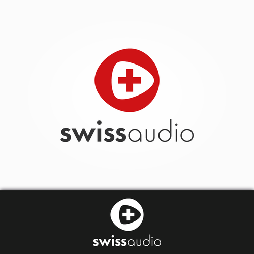 Logo for a manufacturer of luxury and high quality sound systems