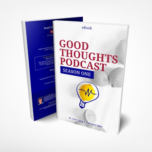 Smart Book Cover Concept for Good Thought Podcast