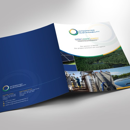Corporate Presentation Folder Design