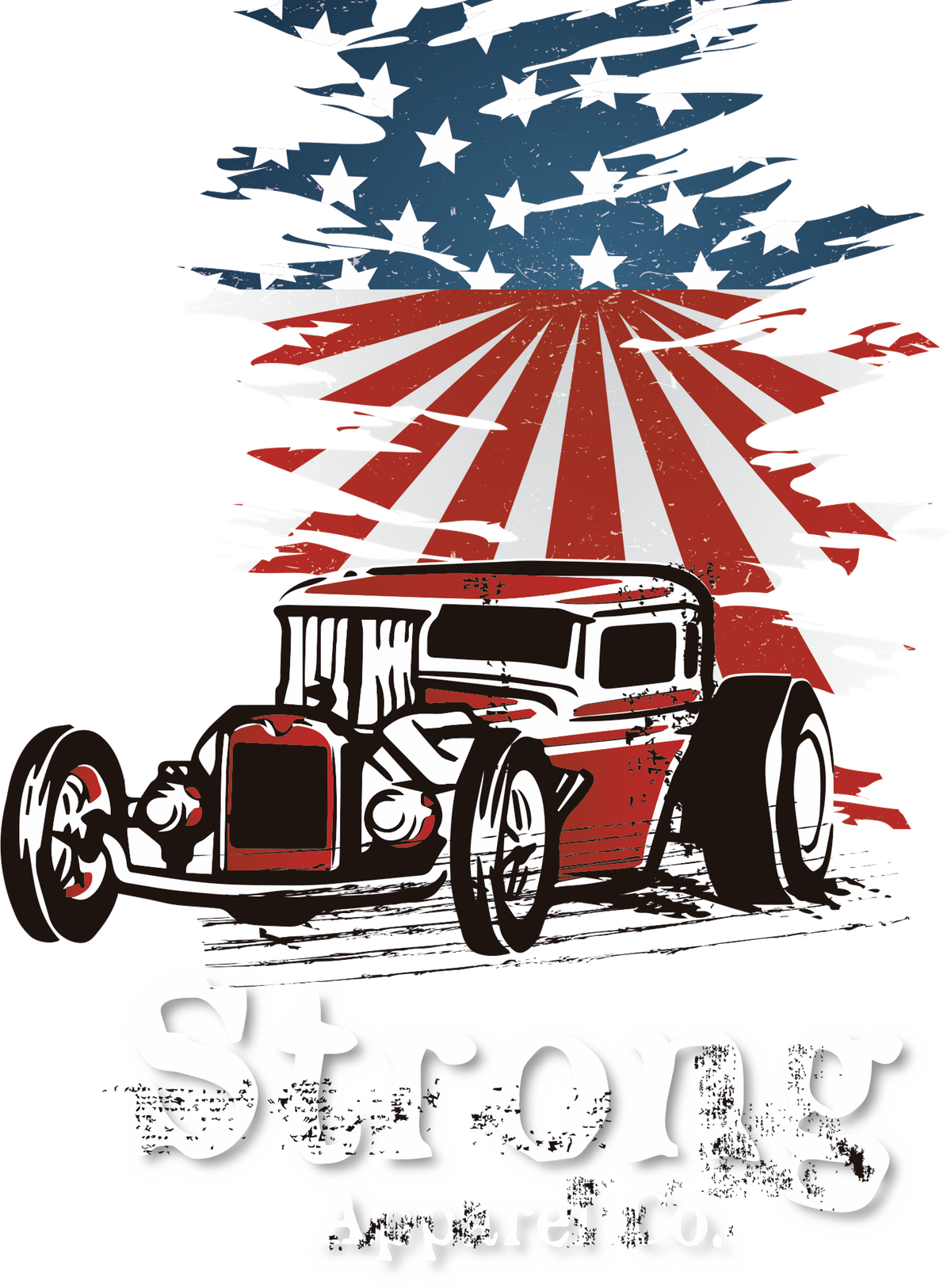 Design #7 from the Strong Apparel Contest