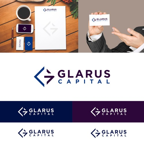 GLARUS CAPITAL LOGO DESIGN