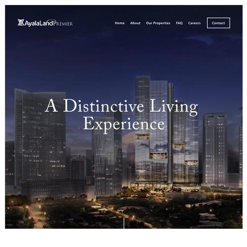 AyalaLandPremier Hidalgo Group | Website for a Real Estate Broker Team