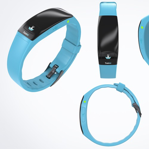Design tracking bracelet for kids