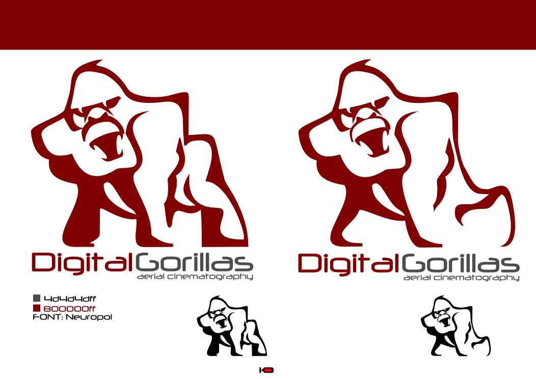 Create the next logo for Digital Gorillas