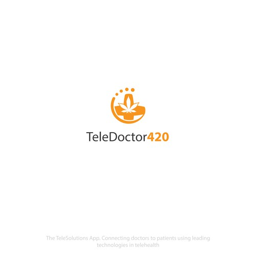 TeleDoctor420 Logo Concept