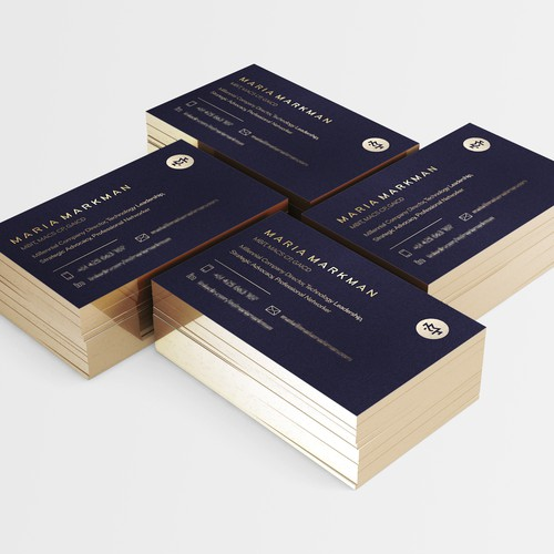 Business Card for Personal Branding Maria Markman