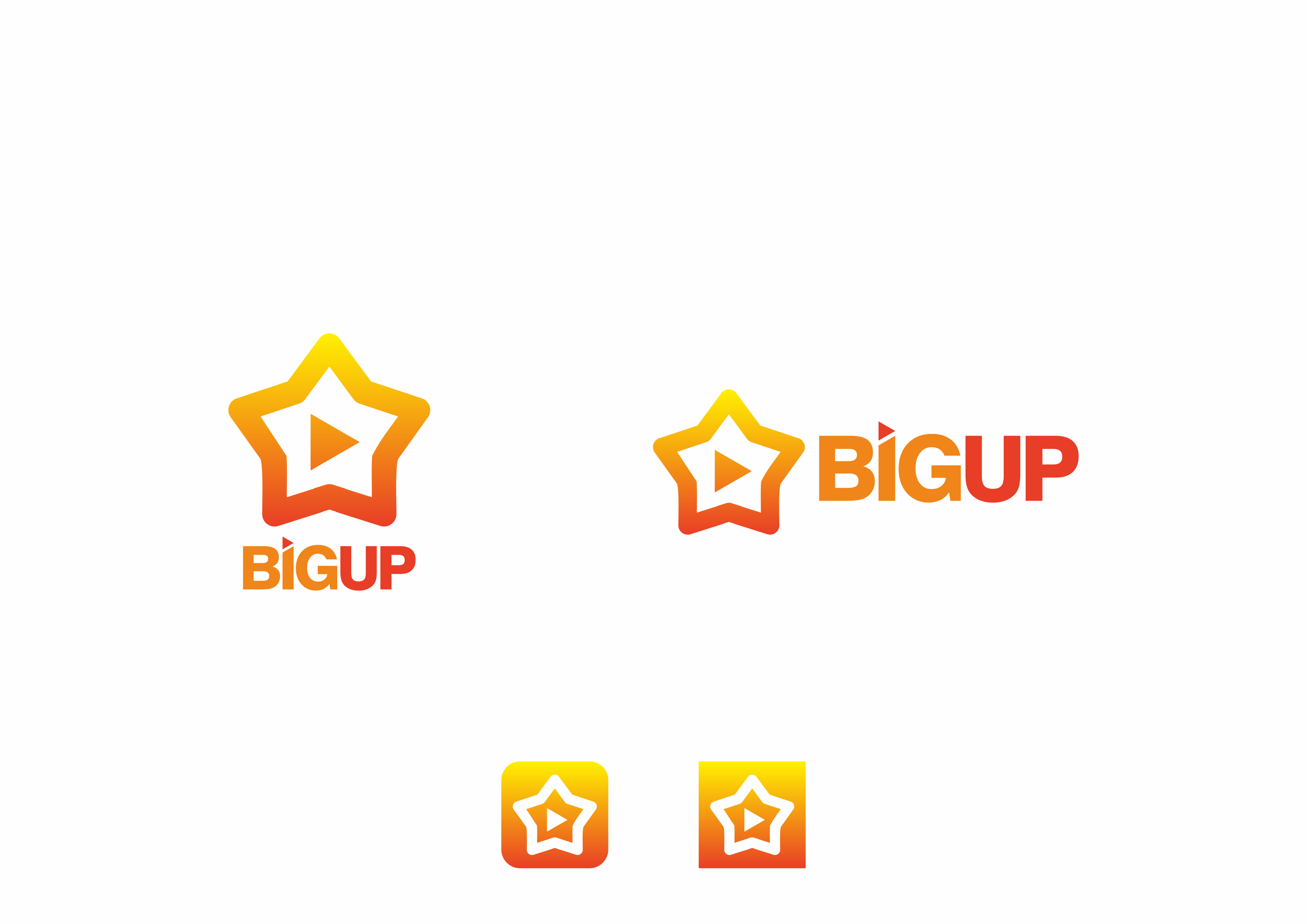 Big Up is looking for a modern and trendy logo - your favorite celebrity will see it !