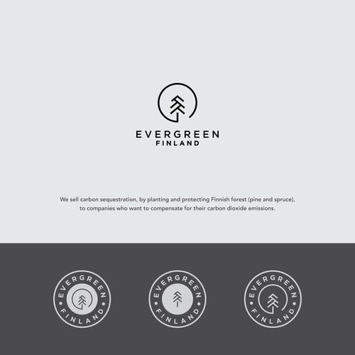 Evergreen Finland Logo concept