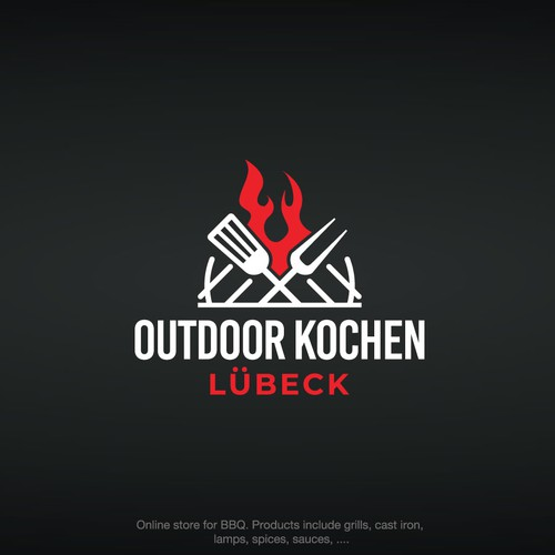 Logo for an online store that sells BBQ products