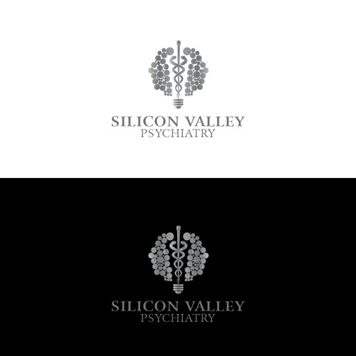 Create swanky logo for New Silicon Valley Psychiatry clinic