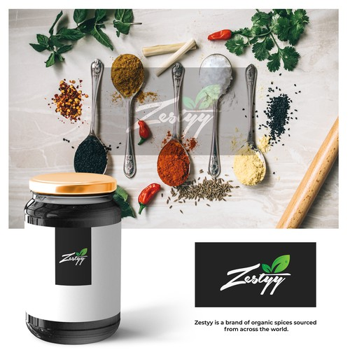 Create the logo for a fun and innovative spice brand