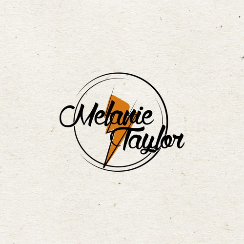 Bold logo concept with feminine edge