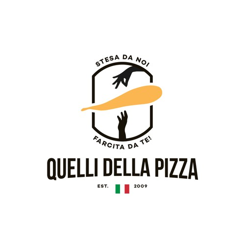 Logo for a pizza base maker