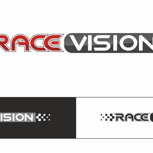 Racevision - needs a super cool logo for the side of a Ferrari and more..