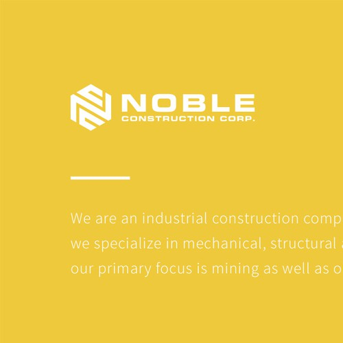 Noble Construction Corporation