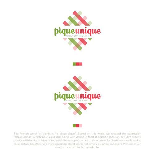 Pique-Unique Logo Design