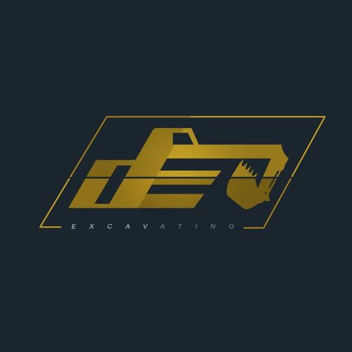 d&e logo concept