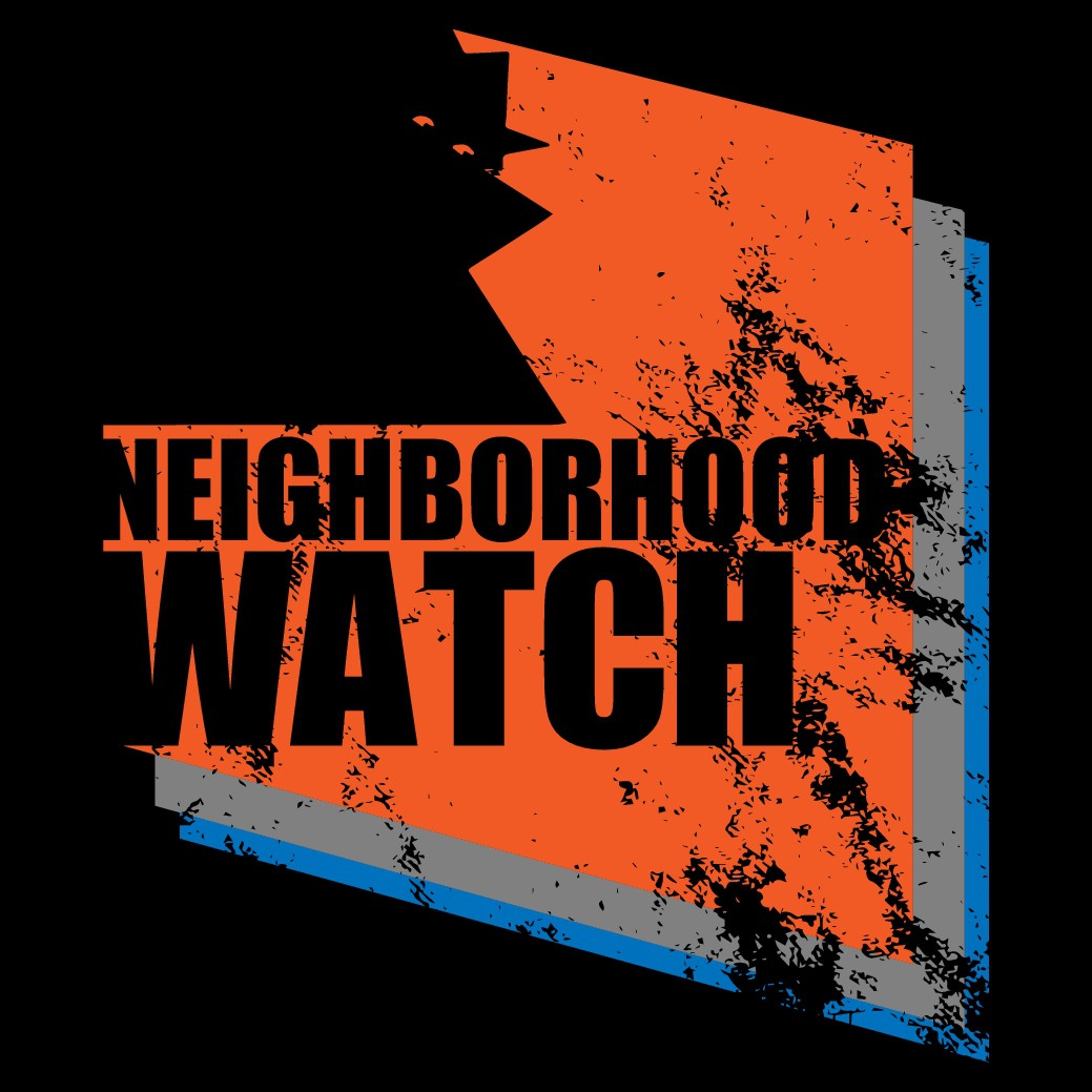 Creativity welcome for church logo inspires by neighborhood watch