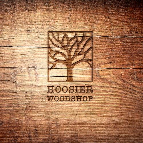 Logo Hoosier Woodshop