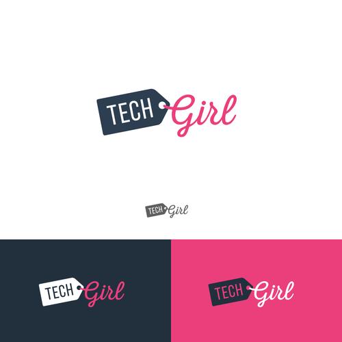 Modern logo concept for a blogger