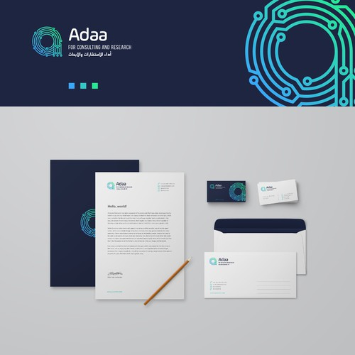 Techy logo and brand identity pack
