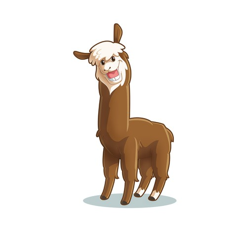 Alpaca caricature
