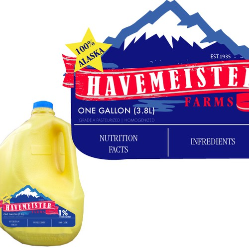 Help Havemeister Farms with a new product label