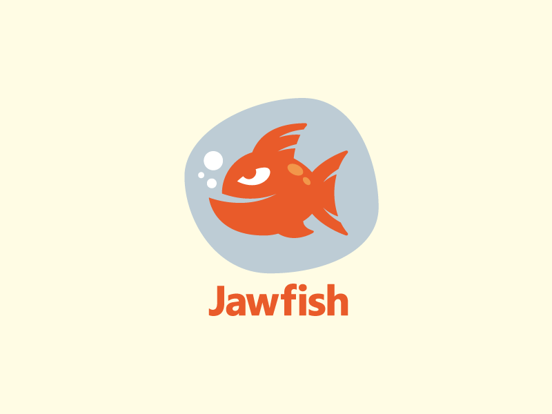 Help Jawfish with a new logo