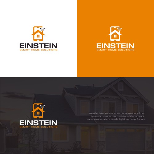 A simple logo for smart home solutions